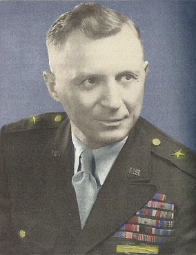 Blue Devils-88th Infantry Division-Brigadier General James C. Fry-Commanding General-July 1945